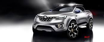 renault alaskan renault alaskan pick up truck concept unveiled frankfurt debut