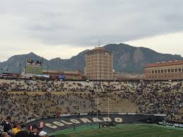 Folsom Field Map Folsom Field U2013 Colorado Buffaloes Stadium Journey