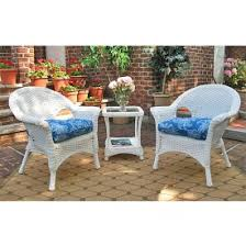 Faux Wicker Patio Sets Wicker Patio Furniture Furniture Sets And Wicker Chairs