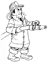 firefighter coloring pages for kids downloadclipart org