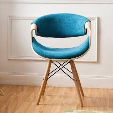 Blue Accent Chair Corvus Contemporary Teal Blue Accent Chair Free Shipping