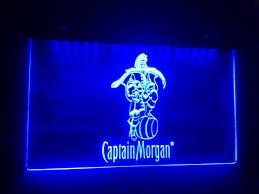 captain morgan neon bar light b 17 captain morgan spiced rum beer bar pub club 3d signs led neon