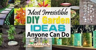 Diy Garden Ideas Most Irresistible Diy Garden Ideas Anyone Can Do Balcony Garden Web