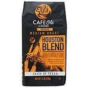 h e b cafe ole houston blend medium roast ground coffee shop
