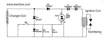 cdi ignition circuit diagram circuit and schematics diagram