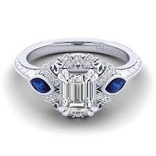 platinum rings stones images Lexington platinum emerald cut 3 stones halo engagement ring jpg