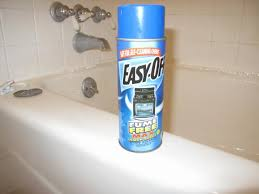tub cleaning with oven cleaner
