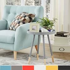 Side Table In Living Room Coffee Console Sofa End Tables For Less Overstock