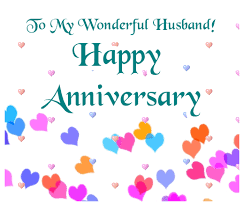 Wedding Anniversary Wishes For Husband Wedding Anniversary Greeting Ecard To My Wonderful Husband Happy