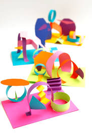colored paper collage sculptures collage sculpture collage and