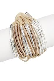 thread cord bracelet images Mutiple cord bracelet wrapped with metallic saachi jpg
