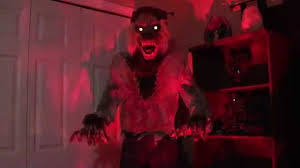 6ft lurching werewolf halloween prop 2014 youtube