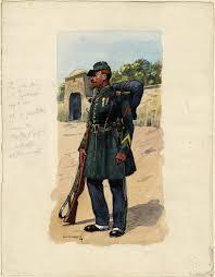 lapeyre siege social 1st regt foreign legion tirailleur 1858 by lucien