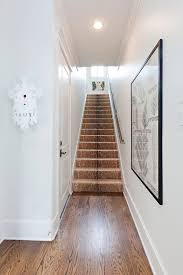 portland stair runner ideas staircase traditional with white