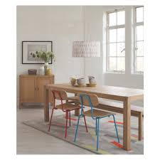 radius 8 seat oak dining table oak dining table solid oak and