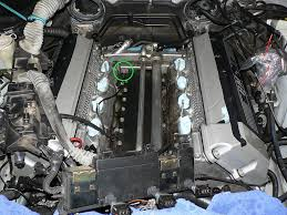 lexus v8 water pipes coolant leak valley pan