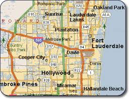 map of ft lauderdale fort lauderdale map florida maps