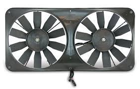 electric radiator fans flex a lite automotive compact reversible dual 11 inch electric fan