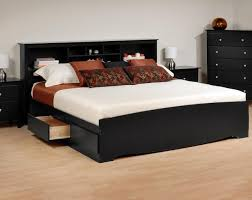 full size bed with drawers and headboard alluring storage platform bed solid wood frame material 4 storage