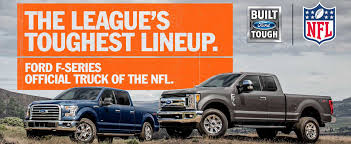 ford trucks ford trucks are now the official truck of the nfl