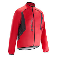 amazon com wolfbike cycling jacket jersey vest wind 500 cycling rain jacket red decathlon