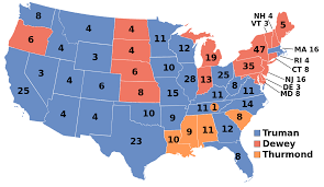 States Ive Been To Map by United States Presidential Election 1948 Wikipedia