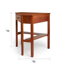 Computer Desk Plan Simple Living Wood Corner Computer Desk Free Shipping Today