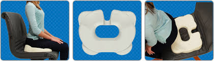 kabooti foam donut cushion ring coccyx and wedge cushion in one