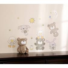 amazon com babies r us b is for bear wall decals baby
