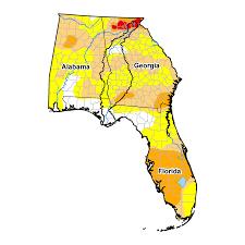 Us Drought Map Apalachicola Chattahoochee Flint River Basin Drought Assessment