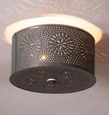 punched tin light ebay