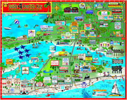 Interactive Maps Perdido Key Orange Beach Things To Do Maps