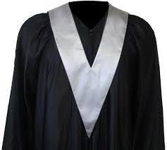 graduation gown graduation gown student tie in colour silver square caps