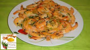 cuisine crevette cuisine artisanale d ambanja madagascar crevettes poêlé épicé