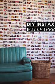 Living Room Ideas For Yelle And Gray Diy Instax Wallpaper U2013 A Beautiful Mess