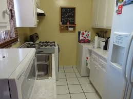 Galley Kitchen With Pass Through Creative Multifamily Pmi Properties