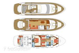 Yacht Floor Plan by Blue Angel Yacht Photos 23m Luxury Motor Yacht For Charter