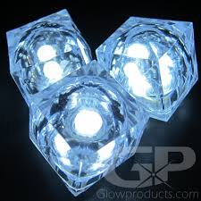 led cubes white light up cubes white led cubes glowproducts