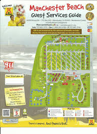 Pismo Beach Map Mendocino Koa Campground Site Map Camping Research Pinterest