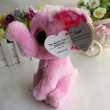 sugar pink elephant 1pc 15cm 6