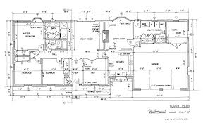 Ranch Floor Plans Fascinating 90 House Floor Plan With Dimensions Design Ideas Of