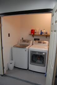 garage renovation ideas enclose a bit of the garage to make a laundry room no link