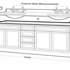 Standard Height Bathroom Vanity by Bathroom Comfort Height Bathroom Vanity With Vessel Sink
