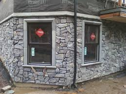 Faux Stone Column Wraps by Can We Talk About Stone Veneer