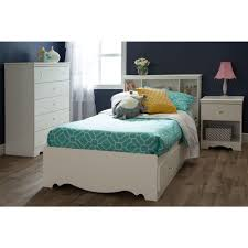 Twin Beds With Drawers South Shore Crystal Twin Kids Storage Bed 3550080 The Home Depot