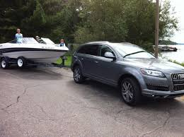 audi q7 towing package q7 towing a boat audiworld forums