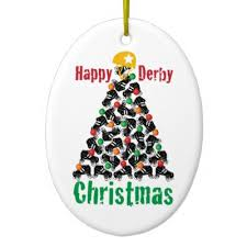 12 days of roller derby roller skating ceramic ornament