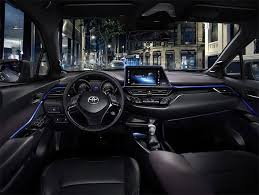 Toyota Interior Colors Toyota C Hr Interior Design Debuts In Its Black And Blue Glory