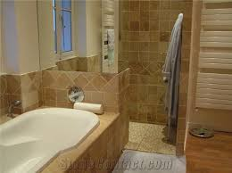 Tile A Bathtub Surround Travertine Wall Tile Bathtub Surround Deck From France