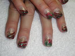 christmas gel nail designs how you can do it at home pictures